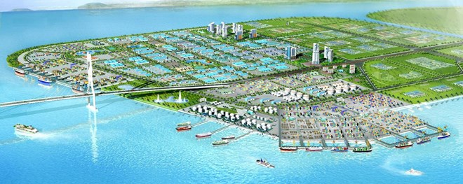 Foreign investment in seaport, industrial park complex in Quang Ninh