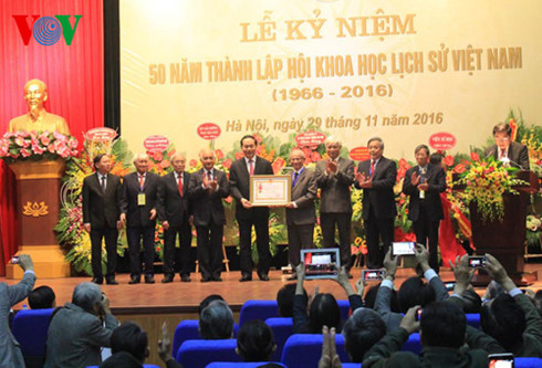 State President attends 50th anniversary of Vietnam History of Science Association
