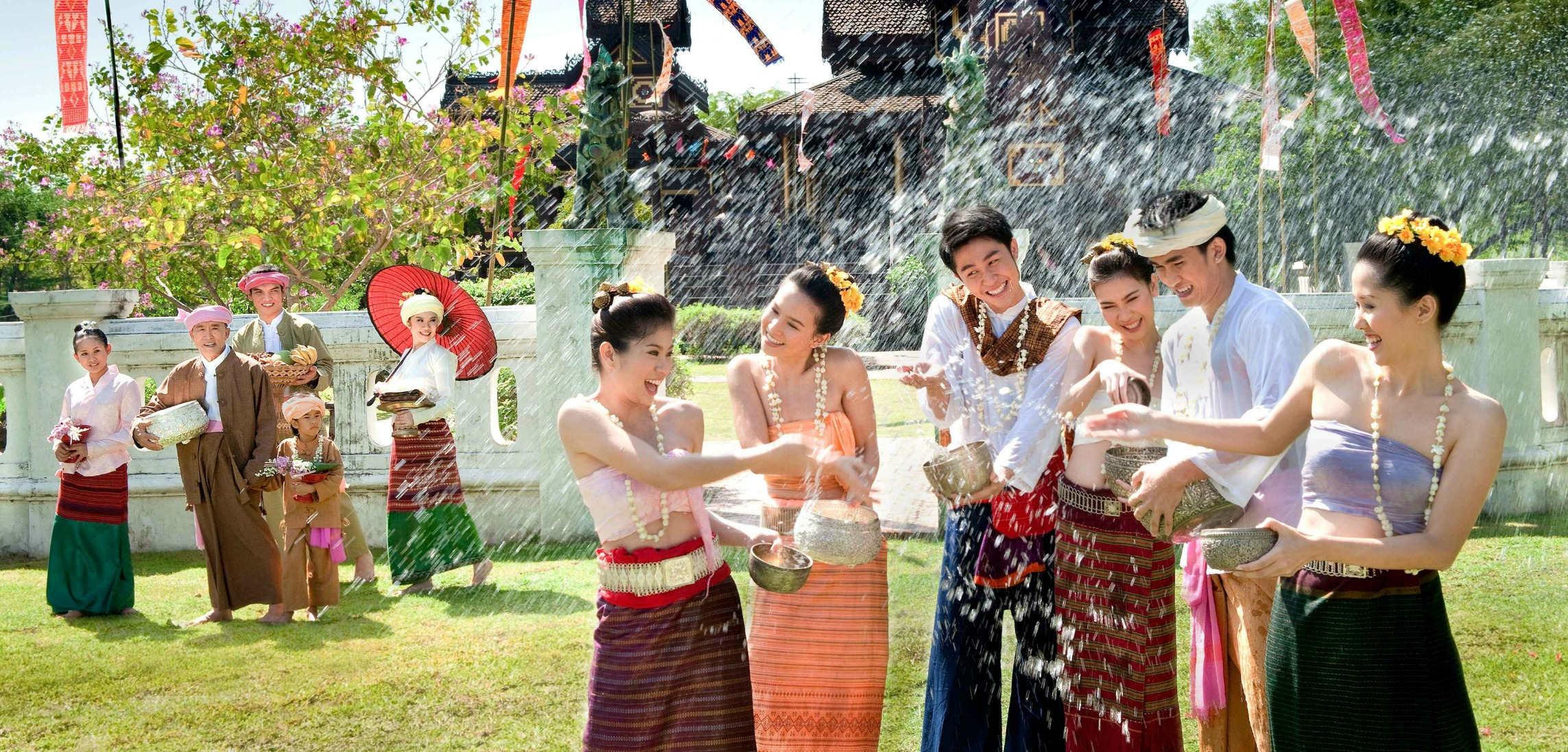 Traditional New Year Festivals of Cambodia, Laos, Myanmar, Thailand in Ho Chi Minh City