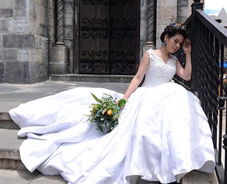sebuah ba na romantis pada musim pernikahan  hinh 3