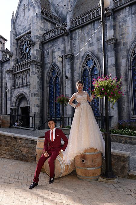 sebuah ba na romantis pada musim pernikahan  hinh 6