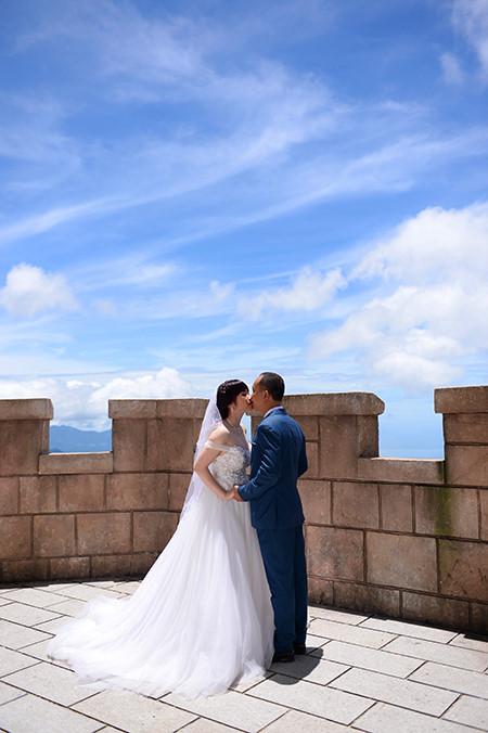 sebuah ba na romantis pada musim pernikahan  hinh 7