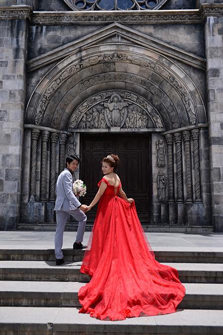 sebuah ba na romantis pada musim pernikahan  hinh 8