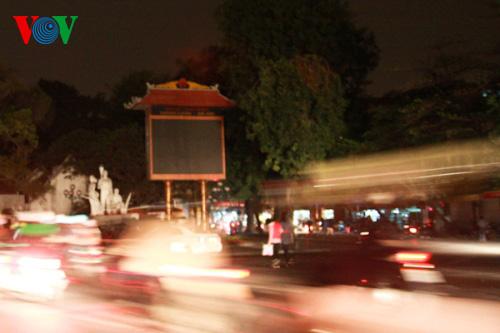 Hanoi, Ho Chi Minh city go dark on Earth Hour