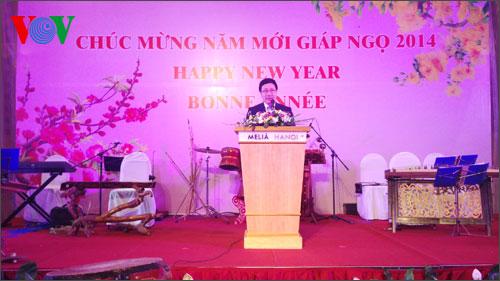 Vietnam's diplomacy targets comprehensive integration in 2014