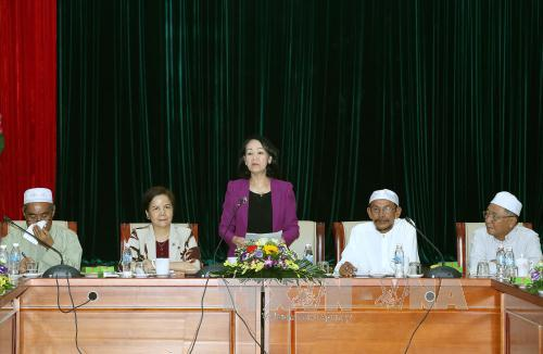 Party Central Committee's Mass Mobilization Commission chief praises Muslim community