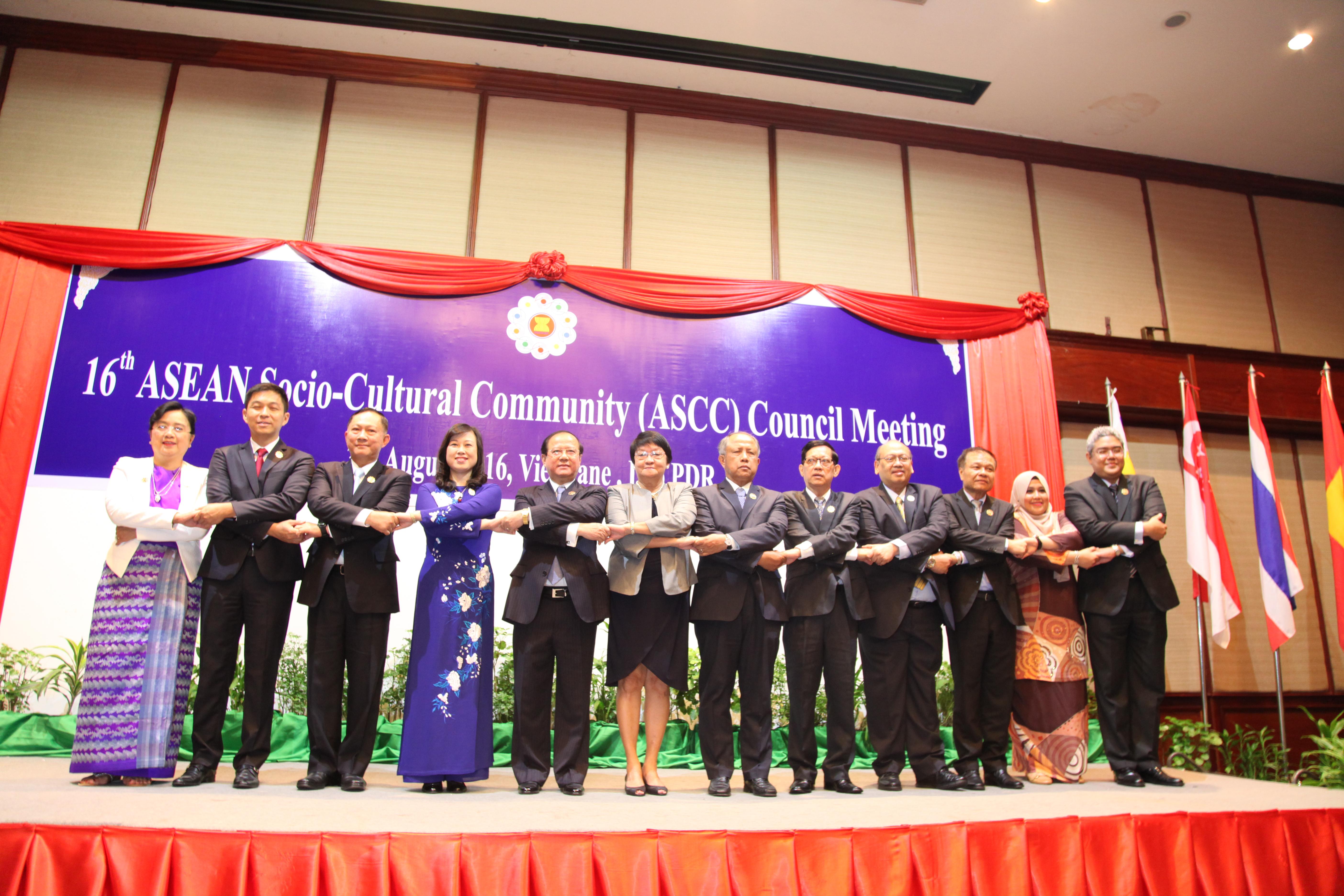 16th ASEAN Socio-Cultural Community Council Meeting opens