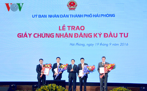 Hai phong takes the lead in attracting foreign investment Current Affairs