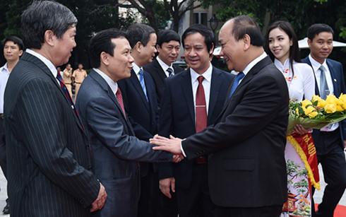 PM Nguyen Xuan Phuc: Vietnam National University should lead start-up campaigns