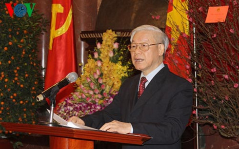 party leader: vietnam advances to seize new opportunities hinh 0