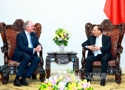 prime minister receives leaders of jardines matheson, uniliver groups hinh 0