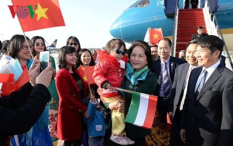 National Assembly Chairwoman arrives in Hungary