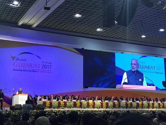 越南出席在印度举行的古吉拉特全球投资峰会   hinh 0