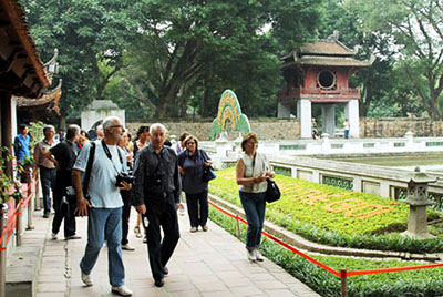 2017年河内计划接待2300多万人次游客   hinh 0