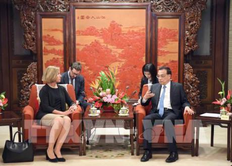 中国和欧盟在北京举行战略对话   hinh 0