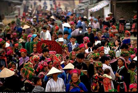 colores de los mercados vietnamitas hinh 1