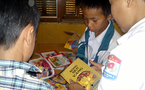"""programa """"proliferacion de libros en el campo"""" de vietnam, metodo mundial para la alfabetizacion hinh 2"""