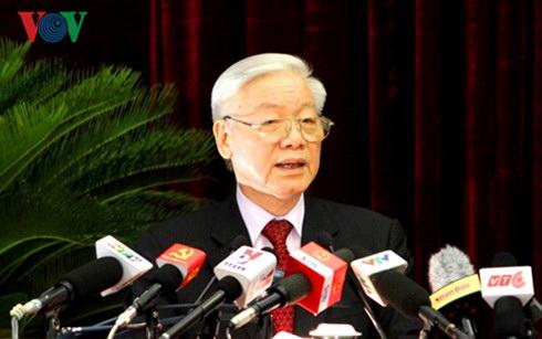 prensa china valora proxima visita del lider partidista vietnamita  hinh 0
