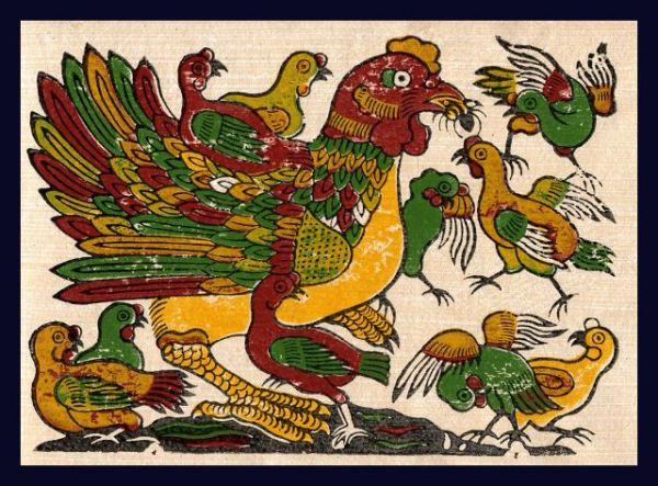 el gallo en la vida cultural y espiritual de los vietnamitas hinh 0