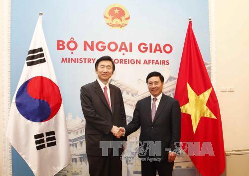 vietnam y corea del sur por promover la asociacion estrategica  hinh 0