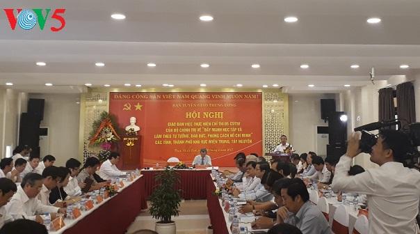 localidades centrales de vietnam apuestan por seguir las ensenanzas de ho chi minh hinh 0