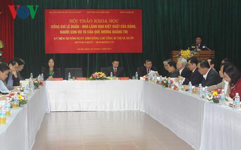 le duan, un lider excepcional del partido comunista de vietnam hinh 0