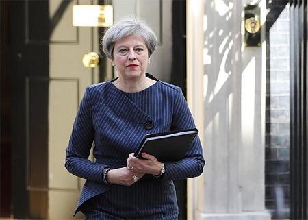 elecciones anticipadas, decision oportuna de primera ministra britanica hinh 0