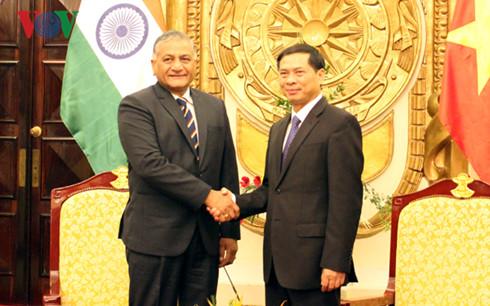 visita vietnam secretario de estado de relaciones exteriores de la india hinh 0