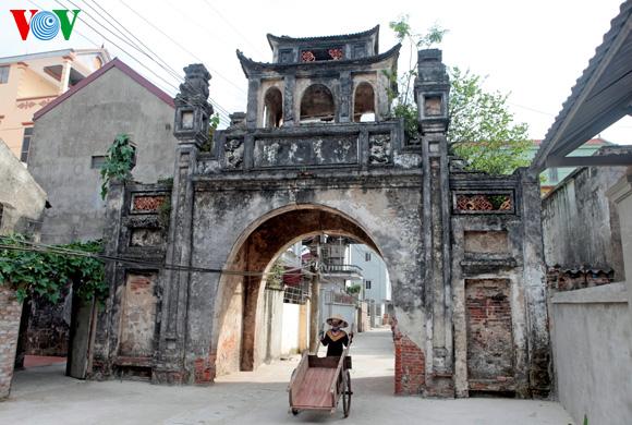 desa dan faktor-faktor yang menciptakan wajah desa vietnam hinh 1