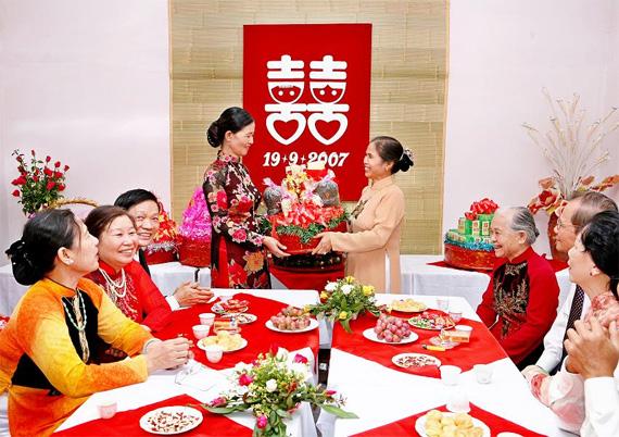penjelasan tentang adat istiadat pernikahan di masyarakat vietnam hinh 0