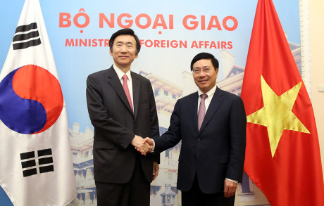 meningkatkan hubungan kemitraan kerjasama strategis republik korea-vietnam berkembang ke ketinggian baru  hinh 0