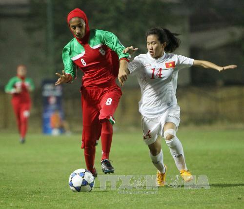 женская сборная вьетнама вышла в финальную часть женского чемпионата азии-2017 по футболу  hinh 0