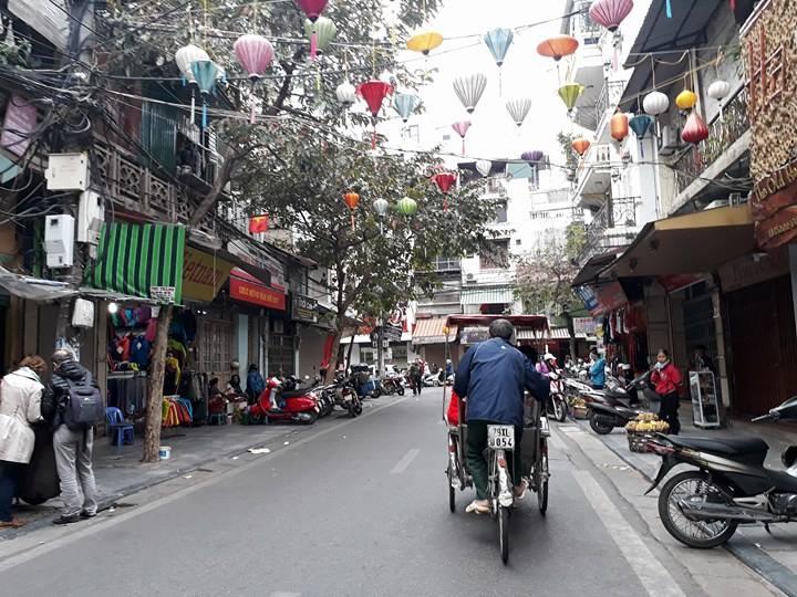 велорикша – культурно-туристическая красота ханоя  hinh 5