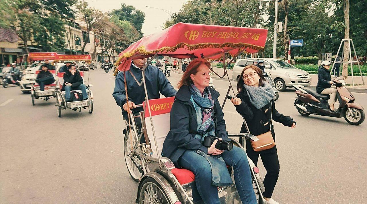 велорикша – культурно-туристическая красота ханоя  hinh 0