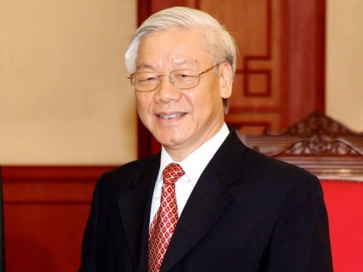 越共中央总书记阮富仲即将对中国进行正式访问 hinh 0