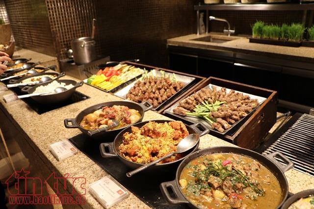 向旅居印度的国际友人展示越南饮食文化精华 hinh 0