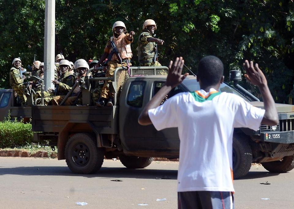 Burkina Faso's army takes control of national TV