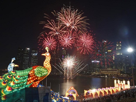 Asian countries welcome Lunar New Year