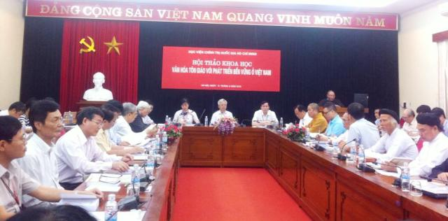 Religious culture and sustainable development in Vietnam