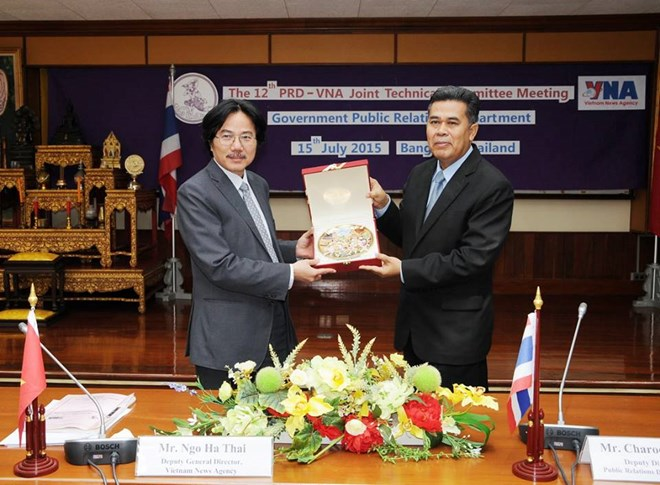 Vietnam News Agency and Thailand's PRD foster cooperation