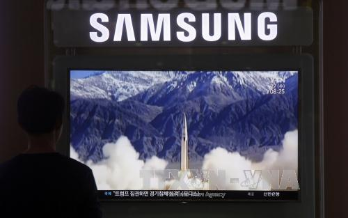 North Korea launches missile tests