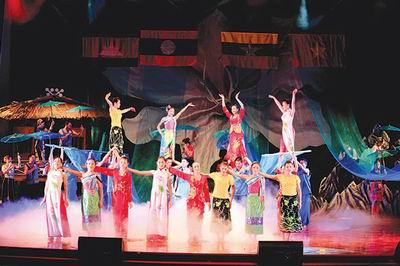 Art performances of Vietnam, Laos, Cambodia, Myanmar and Thailand