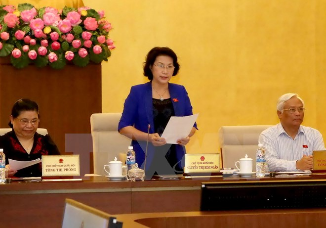 2nd session of the 14th National Assembly Standing Committee opens