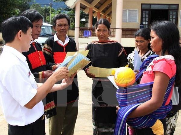 Results of 2015 socio-economic survey of Vietnam's 53 minorities announced