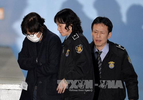 South Korean President Park Geun-hye's close friend arrested