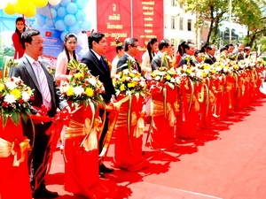 Renovation of Friendship High School handed over to Vientiane