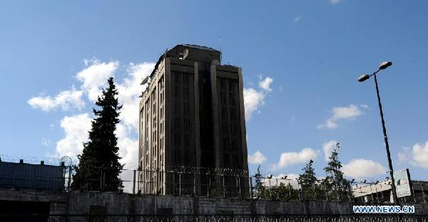 Russian embassy in Syria shelled