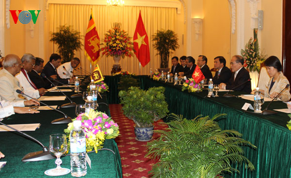 Vietnam, Sri Lanka enhance ties