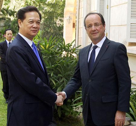 Enhanced Vietnam-France ties