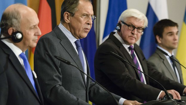 Russia, Germany, France call for immediate ceasefire in Ukraine
